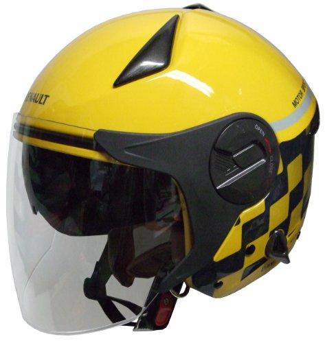 ルノー ジェットヘルメット RENAULT イエロー
