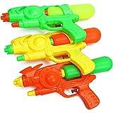 Waronail 夏の子供用の水のおもちゃ水鉄砲、水しぶきおもちゃのピストル、ビーチでの水泳、水泳 ( Color : Orange , Size : S )