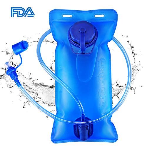 GIM ハイドレーション 給水袋 2L 水分補給 ハイドレーションパック アウトドア 給水用ボトル ウォーターキ...