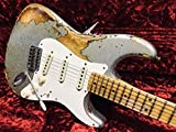 Fender Custom Shop '56 Heavy Relic Silver Sparkle/Sunburst Modern