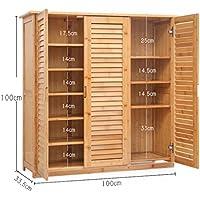 シュウクラブ- シンプルな靴のキャビネットの竹の靴のフレーム単線の靴のストレージのリビングルームマルチ階数多機能玄関キャビネット ( サイズ さいず : 3/6 floors )