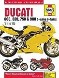Ducati 600, 620, 750 & 900 2-valve V-Twins '91 to '05 (Haynes Service & Repair Manual)
