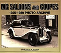 MG Saloons & Coupes 1925-1980 Photo Archive
