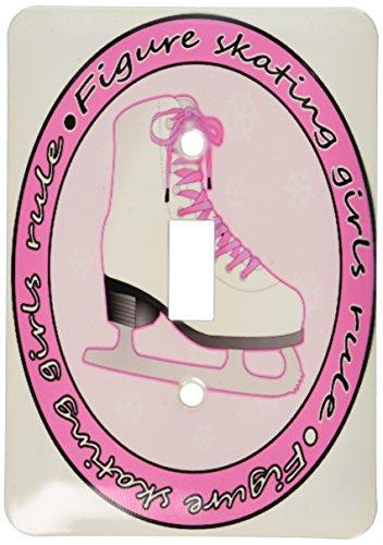 3drose LLC lsp _ 77469_ 1フィギュアスケート女の子ルールピンクスケートSi...