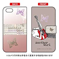 SECOND SKIN 手帳型スマートフォンケース Hal Ikeda 「Another Girl アッシュ」 / for iPhone 5c/SoftBank SAPI5C-IJTC-401-LJK4