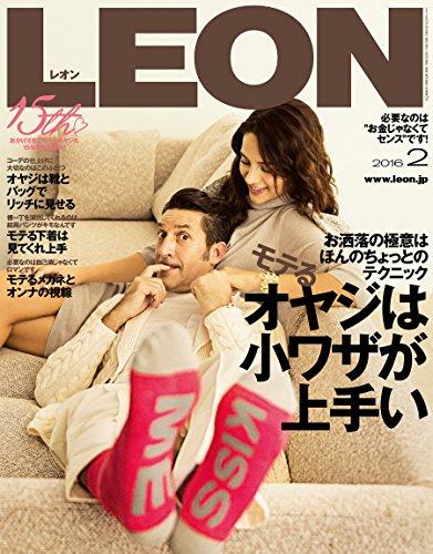 LEON 2016年 02月号 [雑誌]