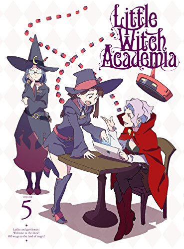 TVアニメ「リトルウィッチアカデミア」VOL.5 Blu-ray (初回生産限定版)