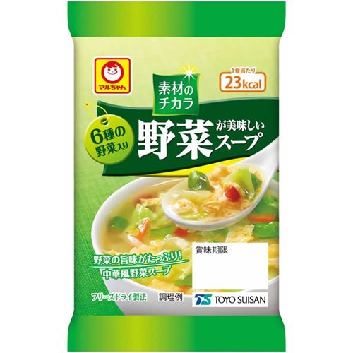 マルちゃん 野菜が美味しいスープ 1食パック