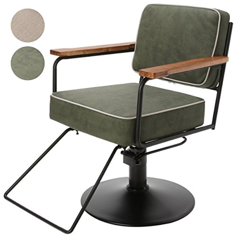 観客ミシン目偏心スタイリングチェア NAPOLI 全2色 グリーン [ スタイリングチェア チェア 椅子 イス セットチェア セット椅子 セットイス カットチェア カット椅子 カットイス 美容室椅子 美容室 美容師 ]