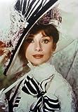 オードリー ヘプバーン  マイ フェア レディ クローズアップ ( Audrey Hepburn ) ポストカード 並行輸入品