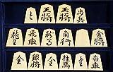 ★将棋駒 宮松影水作/錦旗 御蔵島産本黄楊駒 盛揚将棋駒(桐平駒箱・駒袋セット) 梅商本榧碁盤店