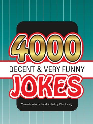 『4000 decent very funny jokes (English Edition)』のトップ画像
