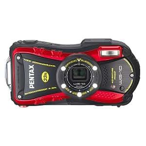 PENTAX 防水デジタルカメラ PENTAX WG-10 レッド 1cmマクロ マクロスタンド付属 PENTAX WG-10RD 12653