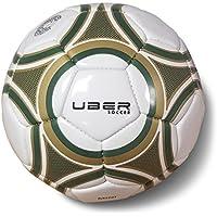 uBer Soccerスキルミニサッカーボール – サイズ1 – グリーンとゴールド