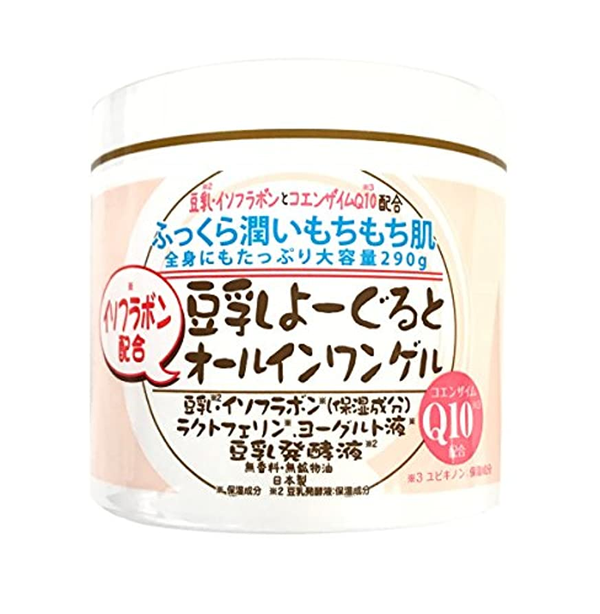 割合スズメバチメロドラマ豆乳よーぐると オールインワンゲル 290g