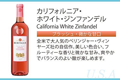 ベリンジャー カリフォルニア・ホワイト・ジンファンデル 750ml [USA/ロゼワイン/甘口/ミディアムボディ/1本]