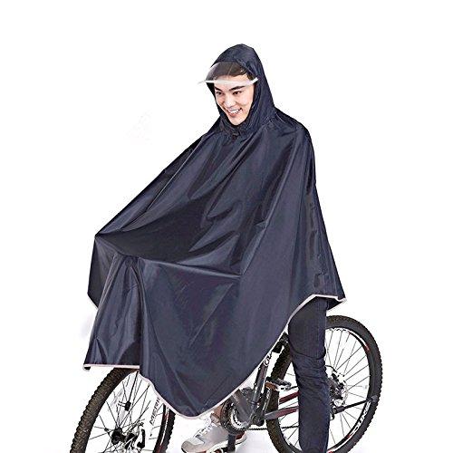 Dolland 自転車用 レインコート ポンチョ 15cm大...
