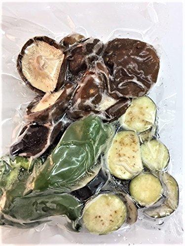 冷凍野菜ミックス 国産 (徳島産) バーベキュー、鉄板焼き用野菜セット 240g 冷凍野菜 【消費税込み】