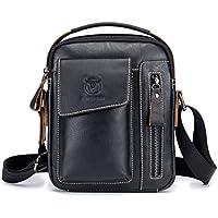 319b4975a6 Amazon.com.au  Black - Handbags   Shoulder Bags   Men  Clothing ...