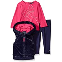 Nautica Baby Girls Three Piece Vest Sets