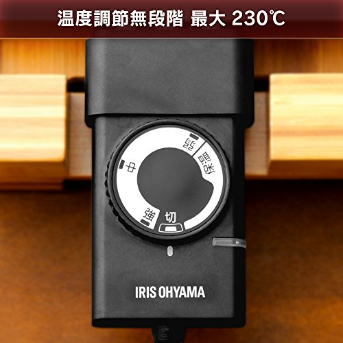 IRISOHYAMA(アイリスオーヤマ)『バンブーホットプレートPHP-1301TC』