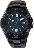 [シチズン キューアンドキュー]CITIZEN Q&Q 電波ソーラー腕時計 SOLARMATE スポーツタイプ アナログ表示 10気圧防水 ブルー HG14-345 メンズ