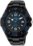 [シチズン キューアンドキュー]CITIZEN Q&Q 電波ソーラー腕時計 SOLARMATE スポーツタイプ アナログ表示 10気圧防水 イエロー HG14-365 メンズ