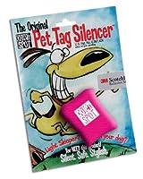 Quiet Spot Pet Tag Silencer - Pink by Itzadog