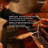 Mozart: Piano Concertos Nos. 5 & 6 - Three Concertos, K. 107 by Ronald Brautigam
