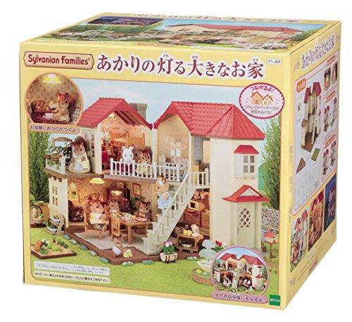 RoomClip商品情報 - シルバニアファミリー お家 あかりの灯る大きなお家 ハ-44
