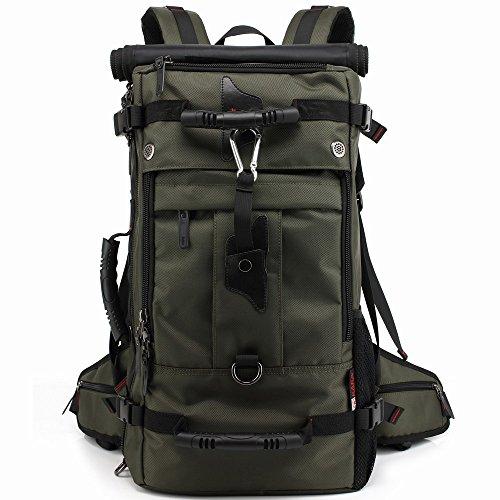 アウトドア リュック ハイキング 旅行 バックパック バック 大容量40L 登山用 グリーン 2070
