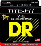 DR エレキ セット弦 TITE-FIT ニッケルプレート  ライト&ヘヴィー 09-46 LH-9