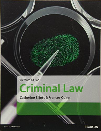 Download Criminal Law 1292088834
