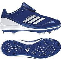 adidas New Abbott Pro Metal W Softball Cleat Womens 9 Royal/White