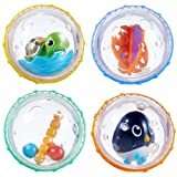 Munchkin Float and Play Bubbles Bath Toy, (Pack of 4)