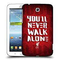 オフィシャル Liverpool Football Club レッド4 You'll Never Walk Alone Samsung Galaxy Tab 3 7.0 専用ハードバックケース