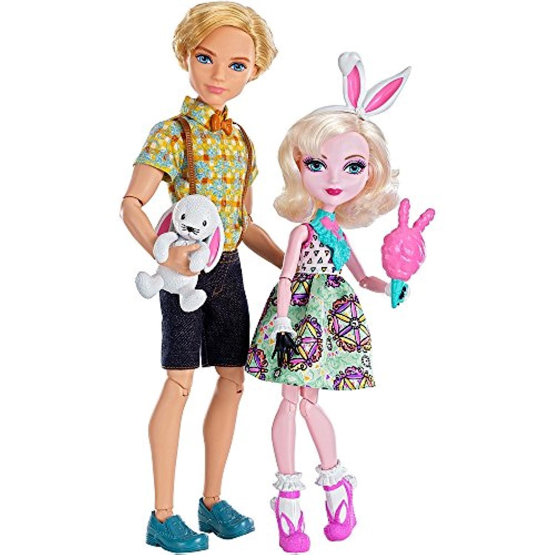 [エバーアフターハイ]Ever After High Carnival Date Doll 2Pack Bunny Blanc and Alistair Wonderland LYSB01BK7YCN2-TOYS [並行輸入品]