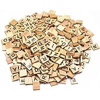 M-Aimee 500 SCRABBLE TILES - NEW Scrabble Letters - Pendants Crafts Spelling Pieces