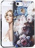 iPhone 8 ケース,Imikoko iPhone 7 ケース カバー 耐衝撃 おしゃれ かわいい 花柄 人気 ブランド ハード アイフォン7/8 携帯カバー (iPhone 7 4.7inch, 花柄I)