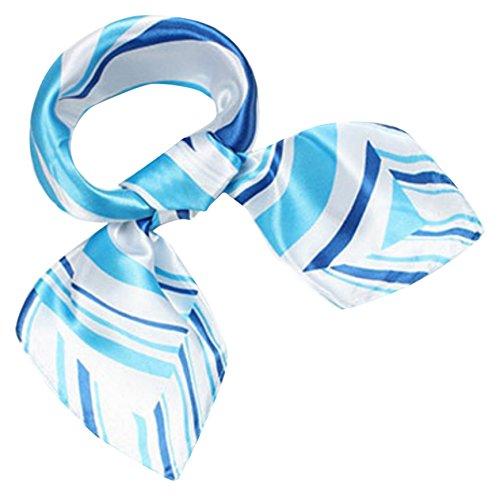 (羅茜)玫瑰* [海洋紋絲圍巾風格]時尚廣場Tsuiri袋周杰倫頭飾帶手鍊纏繞安排免費趨勢邊境三色