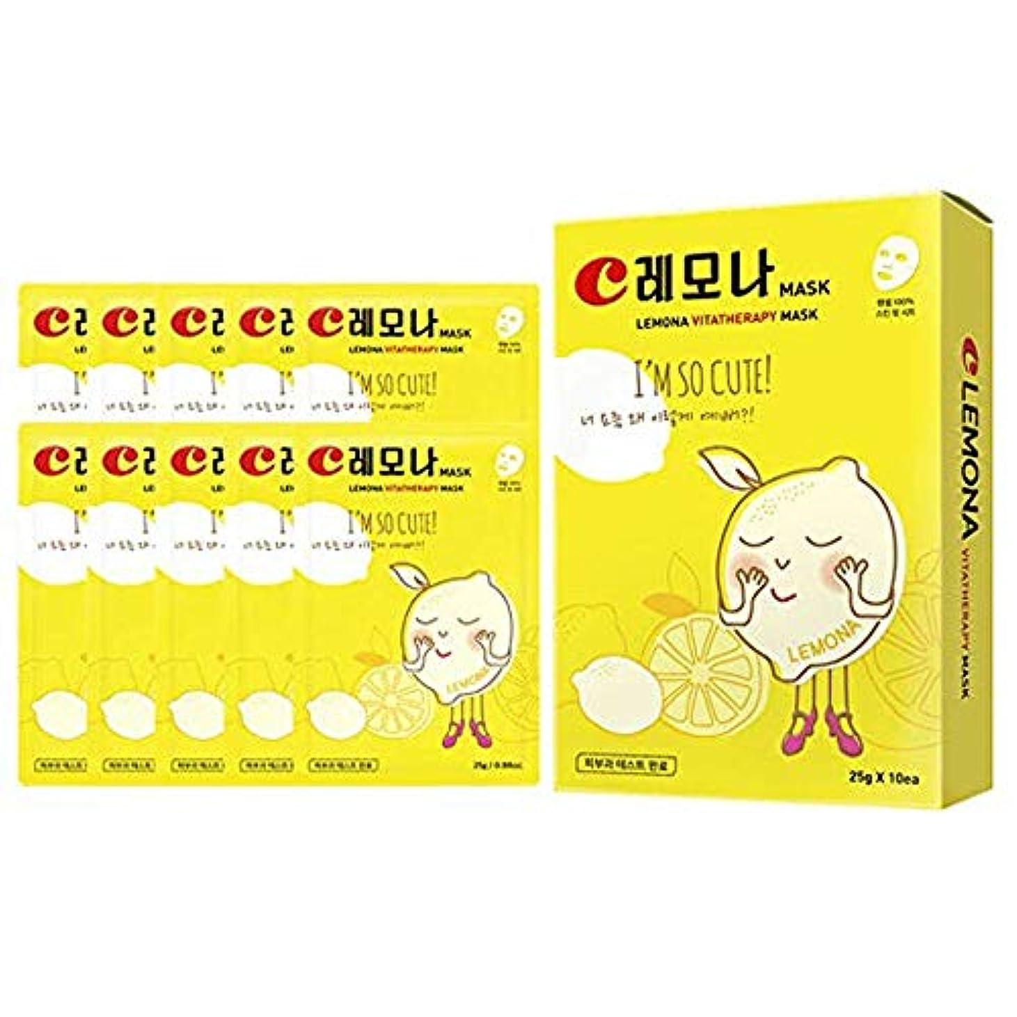 氏代数的圧縮[MISOWEOL]レモナビタミンマスクパック[並行輸入品](345g) : 10ea/pack [ Lemona Vita Therapy Mask(345g) : 10ea/pack ]