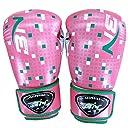 BN ボクシンググローブ パンチンググローブ キックボクシング 格闘技 空手 ミット (Design pink, 8oz)