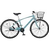 ミヤタ(MIYATA) クロスバイク EX-CROSS ベルト BEC75AB7(AB01) ライトブルー