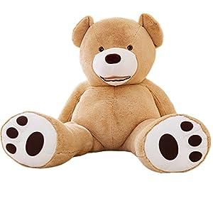 URAKUTOYS ぬいぐるみ 特大 くま/テディベア アメリカ 可愛い熊 動物 大きい/巨大 くまぬいぐるみ/熊縫い包み/クマ抱き枕/お祝い/ふわふわぬ