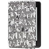 Kindle Paperwhite (第10世代)用保護カバー ムーミン・オリジナルアルファベット