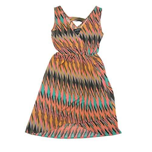 (ステューシー) STUSSY ウーマンズ Deco Wrap ドレス サイズM ピンクマルチ [並行輸入品]