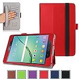 """For Samsung Galaxy Tab s2?8.0?"""" ( Wi - Fi SM - t710?/ LTE SM - t715?)ケース、カバー、スタンド、マイクロファイバー内側、Stylusスロット、手ストラップとクレジットカード/ I"""