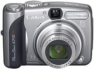 Canon デジタルカメラ PowerShot (パワーショット)A710 IS PSA710IS