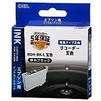 エプソン リコーダー RDH-BK-L互換インク(顔料ブラック×1) 01-4308 INK-ERDHLB-BK