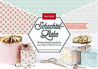 Schachtel-Liebe - pastell: 32 Geschenkschachteln zum Falten, Fuellen & Freuen